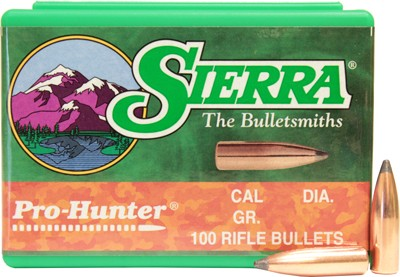 Sierra Bullets 6.5mm .264 - 120gr Sp 100ct