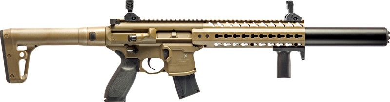 Sig Air-mcx-177-88g-30-fde - .177 Co2 30rd Fde Air Rifle