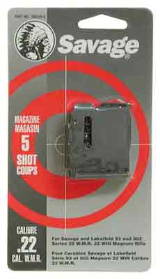 Savage Magazine 93 Series - .22wmr/.17hmr 5-rnd Blued