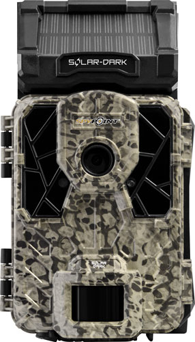 Spypoint Trail Cam Solar Dark - 12mp Hd Sound Video No Glow