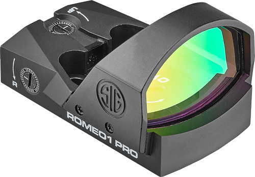 Sig Sig Optics Reflex Sight Romeo1 - Pro 6moa 1x30 Steel Shroud Blk