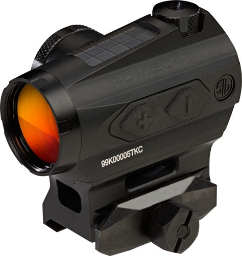 Sig Optics Red Dot Romeo 4t - 2 Moa Circle Dot Solor Black