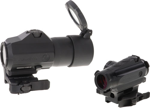 Sig Optics Romeo4/juliet4 - Magnifier Combo 2moa Black