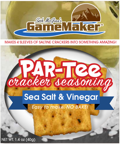 Can Cooker Gamemaker Par-tee - Cracker Seasoning Salt&vinegr!