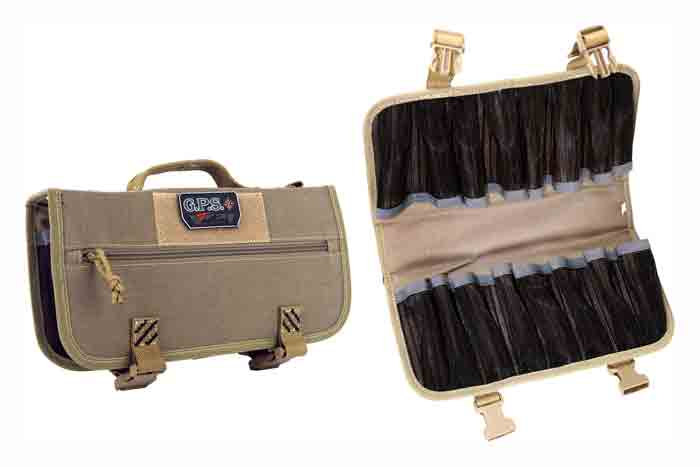 Gps Magazine Storage Case - Holds 16-pistol Mags Tan