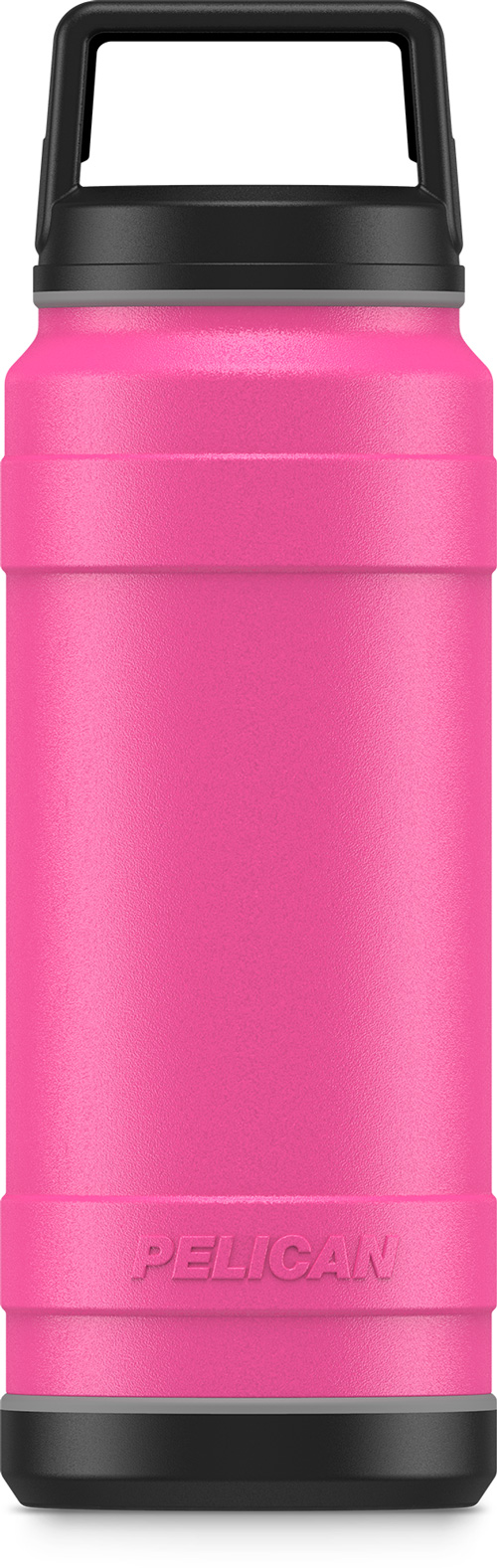 Pelican Traveler 18 Oz Bottle - Screw Top Leak Proof Ss Pink