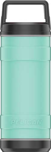 Pelican Traveler 18 Oz Bottle - Screw Top Ss Seafoam Green