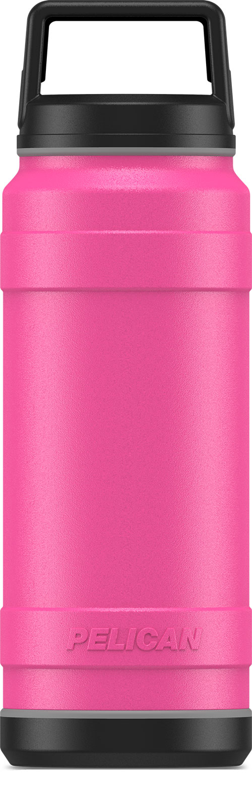 Pelican Traveler 32 Oz Bottle - Screw Top Leak Proof Ss Pink