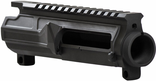Odin Upper Receiver Billet Blk - Ar-15 9mm No Foward Assist
