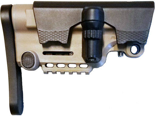 Ab Arms Stock Urban Sniper - Mil-spec/commerical Ar15 Fde