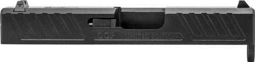 Grey Ghost Prec Glock 43 Slide - V1 Black