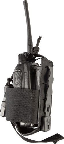 Grey Ghost Gear Radio Pouch - Small Laminate Black