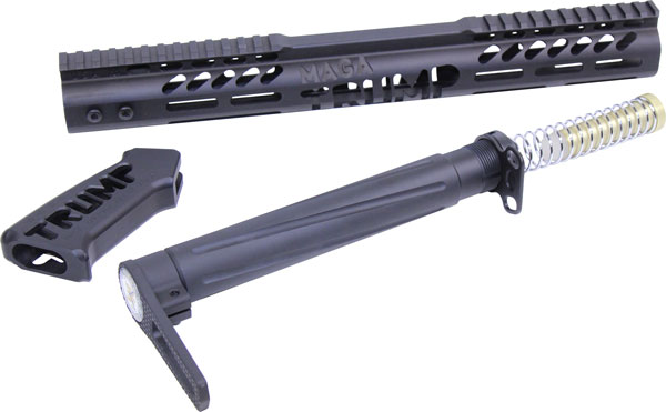 Guntec Airlite Alum Stock Set - Trump Limted Edition Black